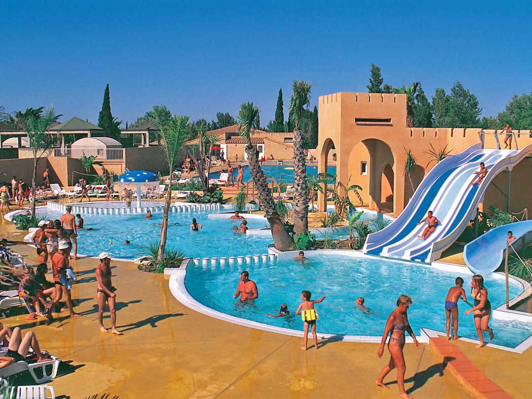 Narbonne les mimosas french campsites - Camping carcassonne avec piscine ...